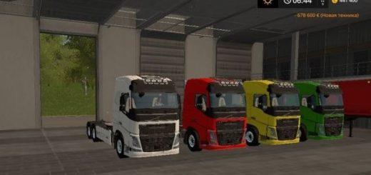 Мод грузовик Volvo FH16 AR v 1.0 FS17