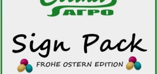 Мод SVAPA Agro Sign Pack 1.3 Фермер Симулятор 2017