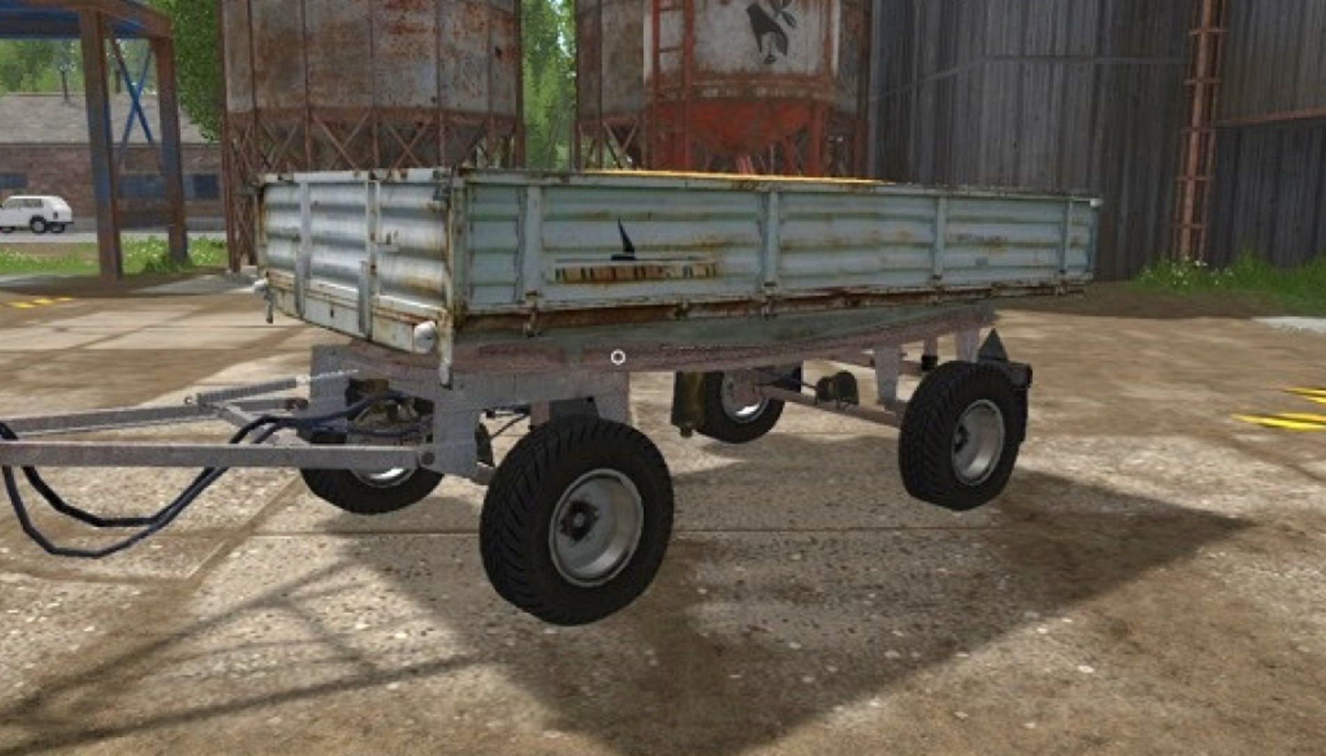 Мод прицеп Autosan D47 Farming Simulator 17