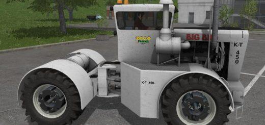 Мод трактор Big Bud TK450 v 1.1 Farming Simulator 17