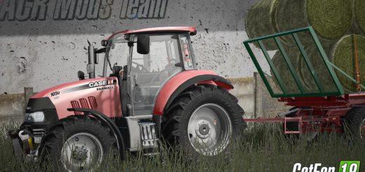 Мод трактор Case Farmall 105U v 1.0 FS17