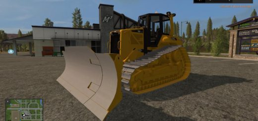 Мод CAT D6N LGP v 1.1 Farming Simulator 2017