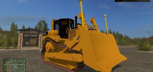 Мод CAT D7R v 1.1 FS17