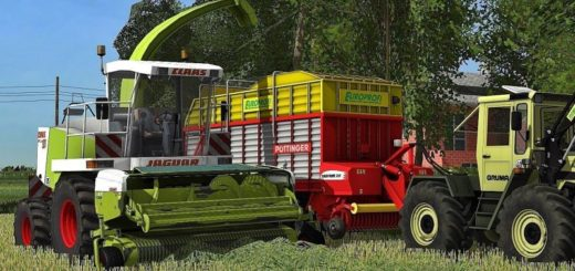 Мод ПАК Claas Jaguar 880 Pack v 1.0 Farming Simulator 2017