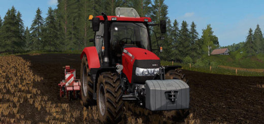 Мод трактор Case IH Maxxum 110 CVX v 5.8.8 FS17