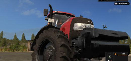 Мод трактора Case IH Maxxum Pack v 1.5.2 Farming Simulator 17