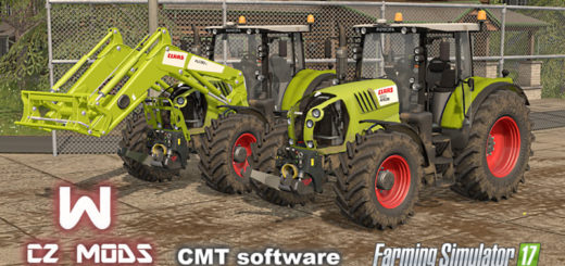 Мод трактора Claas Arion 600 & Axion 800 Series v 1.0 FS17