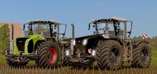 Мод трактора Claas Xerion 4500/5000 (2009-2013) v 1.0 FS17