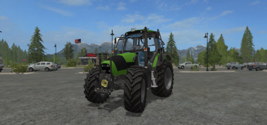 Мод трактор Deutz Fahr Agrotron 120 MK3 v 1.0 Farming Simulator 2017