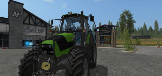 Мод трактор Deutz Fahr Agrotron 165 MK3 v 2.2 Farming Simulator 17