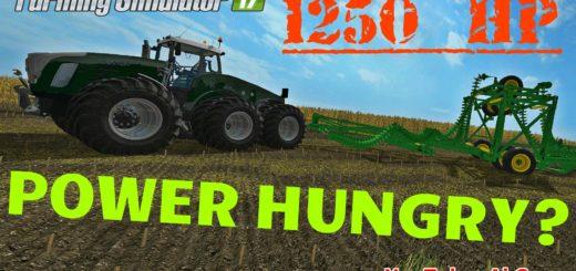 Мод трактор FENDT TRISIX V1.0 Farming Simulator 2017