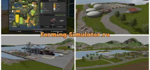 Мод карта Farming Legend v1.0.0.3 Farming Simulator 2017
