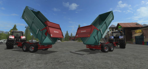 Мод прицеп Farmtech Durus 2000 v 1.0 Farming Simulator 2017