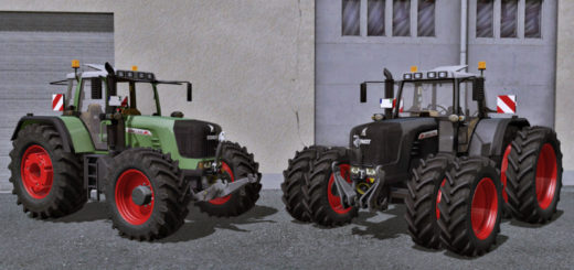 Мод трактор Fendt 930 TMS v 1.0 Farming Simulator 17