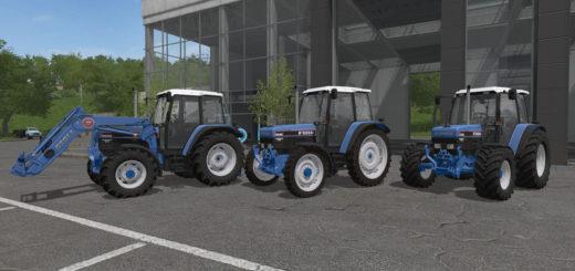 Мод трактор Ford 40s 4cylinder v 1.0 Farming Simulator 17
