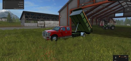 Мод FORD F-350 DUMP BED V1 Farming Simulator 2017