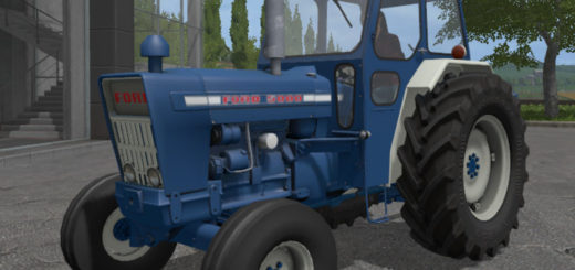 Мод трактор Ford Forces 7000 v 2.1 Farming Simulator 17