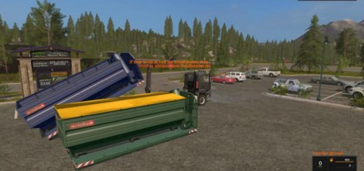 Мод ITR DOCK CONTAINER V2.1 Farming Simulator 2017