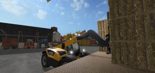 Мод погрузчик JCB Loadall v 1.0.1.0 Farming Simulator 17