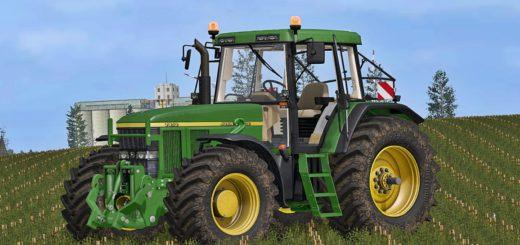 Мод трактор John Deere 7710/7810 v 2.0 Farming Simulator 17