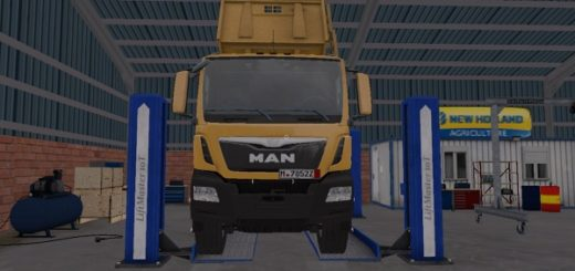 Мод грузовик MAN TGS 41.440 TIPPER EDITED FS17