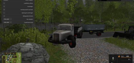 Мод грузовик Mercedes LG 315 v 1.0 Farming Simulator 2017