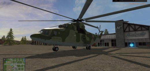 Мод вертолет Ми-26 Фермер Симулятор 2017
