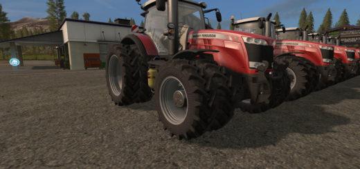 Мод трактор Massey Ferguson 8700 Series v 1.0.0.0 Farming Simulator 2017
