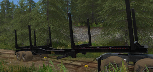 Мод прицеп MCLENDON FT40 LOGGING TRAILER V1.0 FS17