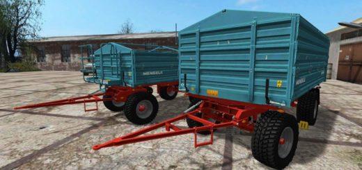 Мод ПАК прицепов Mengele MZDK 14000 Farming Simulator 2017