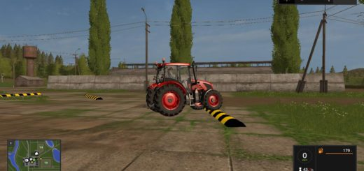 Мод Placeable bump v 1.0 Farming Simulator 17