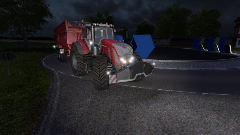 Мод противовес Protector Weight 2t v 1.0 Farming Simulator 2017