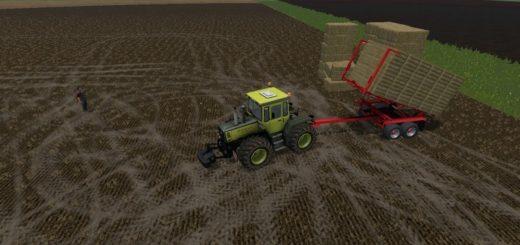 Мод прицеп PROAG AUTOALIGN BALERUNNER 16K V3.17 Farming Simulator 17