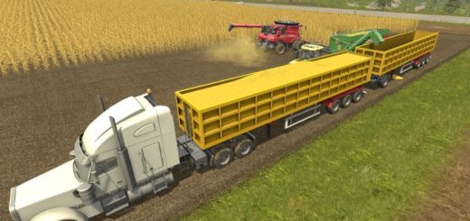Мод прицеп Semi-Tipper 70000/6 v1.0 Farming Simulator 2017