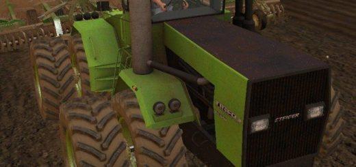 Мод трактор Steiger Tiger 525 v 1.0 Farming Simulator 2017