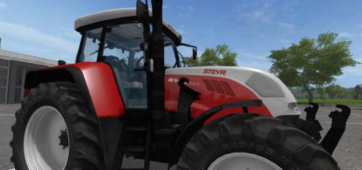 Мод трактор STEYR 6140 CVT 2G v 1.1 Farming Simulator 17