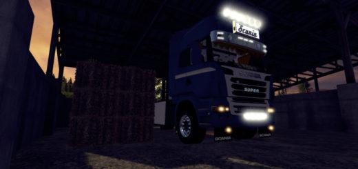 Мод грузовик SCANIA R730 V1.1 FS17