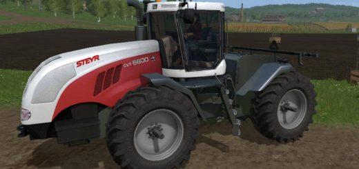 Мод трактор STEYR 6600 CVT V1.0 Farming Simulator 2017