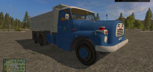 Мод грузовик Tatra 148 S3 v 1.0 Farming Simulator 2017