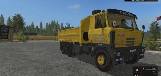 Мод грузовик Tatra T815 S3 v 1.0 FS17
