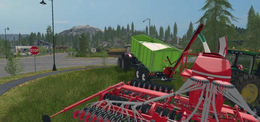Мод прицеп TKD302 V1.1.0.1 Farming Simulator 17