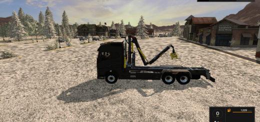 Мод Volvo Crane ITRunner v 1.0 Farming Simulator 2017