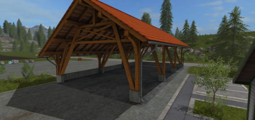 Мод Wood Barn v1.0 FS17
