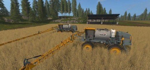 Мод опрыскиватель Hagie STS 16 v 1.1 Farming Simulator 17