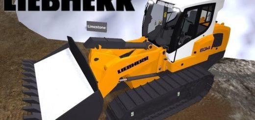Мод Liebherr LR 634 v 1.1 Farming Simulator 17