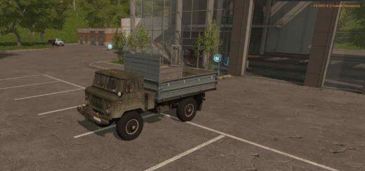 Мод грузовик ГАЗ GAZ 66 v 1.0 Farming Simulator 17