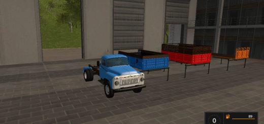 Мод грузовик ГАЗ-53 и модули Фарминг Симулятор 2017