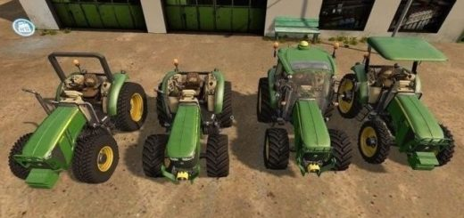Мод трактора John Deere 5M Series v 2.5 Final Farming Simulator 2017