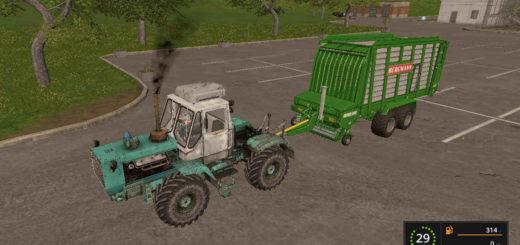 Мод трактор Т 150к 1.2 Фарминг Симулятор 2017