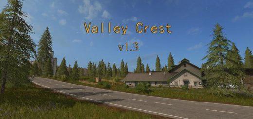 Мод карта Valley Crest 1 V 1.3 Farming Simulator 2017